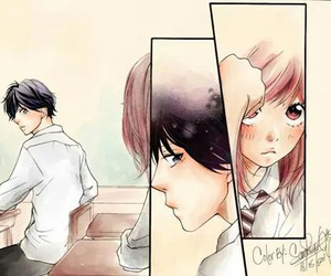 ao haru ride, manga, and kawaii image