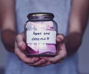Dream, money, and hope image