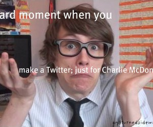 account, charlie, and cool image