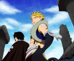 Rogue, sting, and fairy tail image