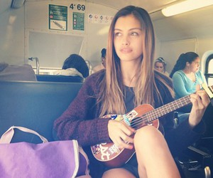 trains girl guitars and spring love life music image