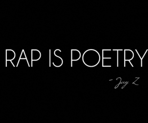 rap, poetry, and quote image