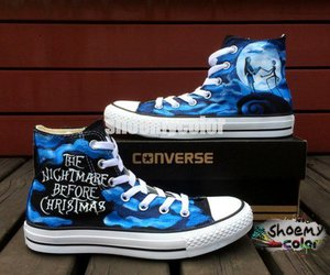 custom shoes, creative gift, and fashion shoes image