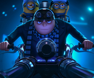 film, minions, and despicable me image