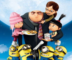 minions, despicable me, and GRU image