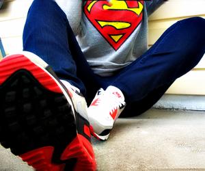 superman, swag, and nike image