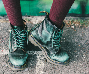 boots and grunge fashion image