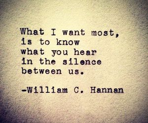 silence, quotes, and hear image