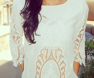 lace and trendy top image