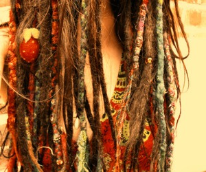 crazy, dreadlocks, and hair image