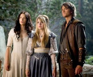 legend of the seeker, aimee teegarden, and bridget regan image