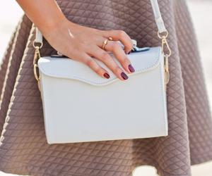fashion, pretty, and bag image