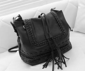 bag, black, and pretty image
