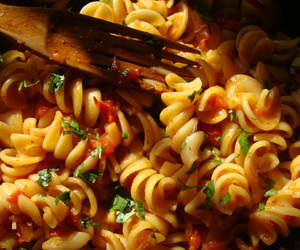 food, italy, and pasta image