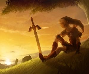 game, link, and the legend of zelda image