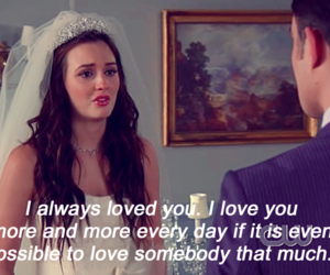 gossip girl and blair and chuck image