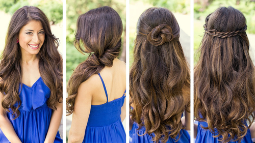 cute girly hairstyle - Google Search on We Heart It