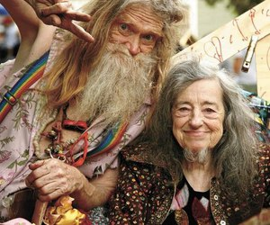 hippie, hippies, and old image