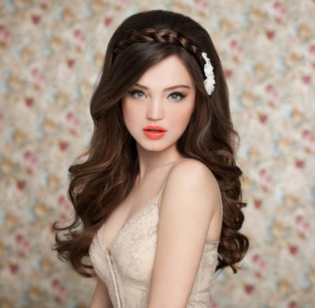Cute Bridal Hairstyle Google Search On We Heart It