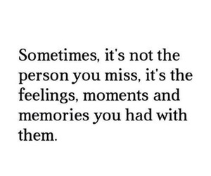 memories, love, and quote image