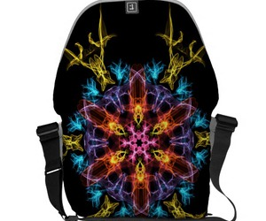 bags, graphic, and kaleidoscope image