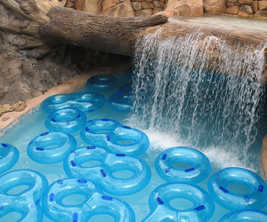 float, water, and water park image