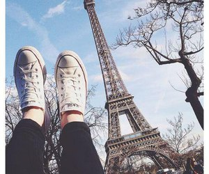 paris, converse, and france image