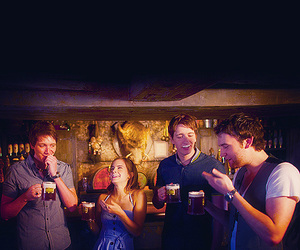 harry potter, emma watson, and oliver phelps image