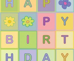 happy birthday, hbd, and feliz cumpleanos image