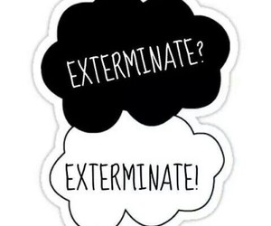 Dalek, tfios, and doctor who image