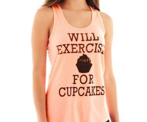 cupcake, exercise, and fitness image
