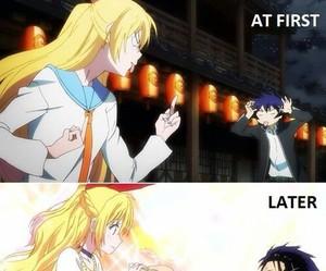 nisekoi, chitoge, and anime image