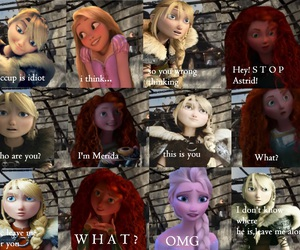 astrid, frozen, and jelsa image
