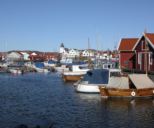 channel, sea, and sweden image