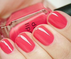 nail, nails, and pink nail image