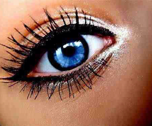 eye, eyes, and blue image