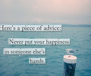 quotes, happiness, and advice image