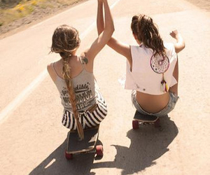 best friends, clothes, and dreamcatcher image