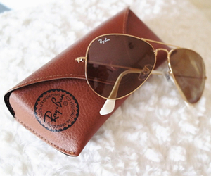fashion, ray ban, and sunglasses image