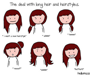 hair, hairstyle, and true image