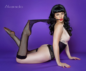 girl, Pin Up, and lingerie image
