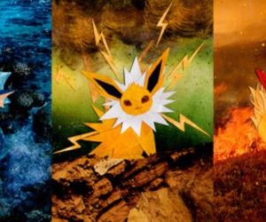 art, pokemon, and vaporeon image