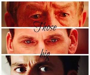 david tennant, doctor who, and eyes image