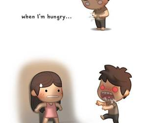 love, hungry, and crazy image