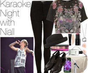 fashion, karaoke, and outfit image