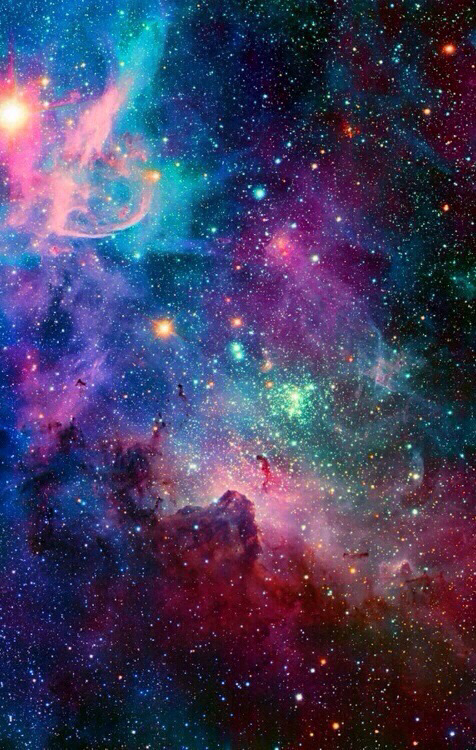 Bright Colors Galaxy Shared By Sweel Ihfihily