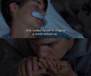 the fault in our stars, love, and quotes image