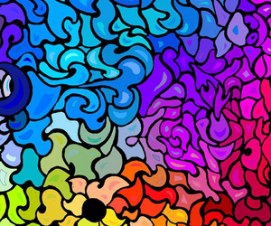 colorful, colors, and pattern image