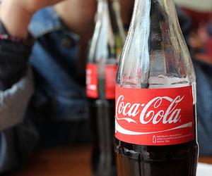coca cola, drink, and cola image