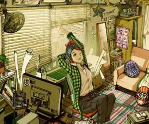 girl, anime, and illustration image